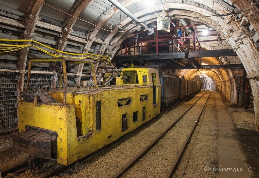 Część podziemna - trasa turystyczna<p alt=